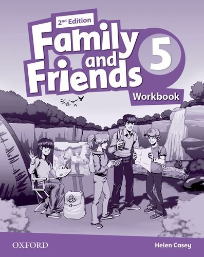 Family and Friends Second Edition 5 Workbook