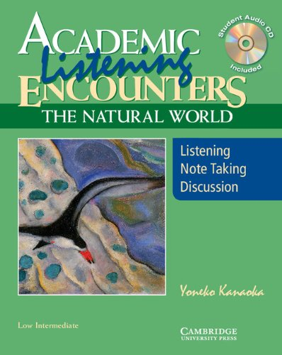 Academic Encounters: The Natural World - 2-Book Set (Student's Reading Book and Student's Listening