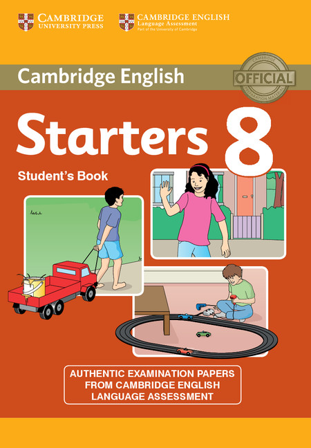 Cambridge Young Learners English Tests Starters 8 Student's Book