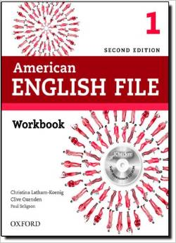 American English File Second edition Level 1 Workbook with iChecker