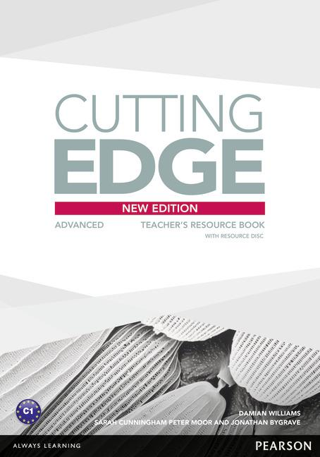 Cutting Edge 3rd Edition Advanced Teacher's Book with Teacher's Resources CD-ROM Pack