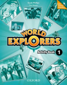 World Explorers 1 Activity Book with Online Practice