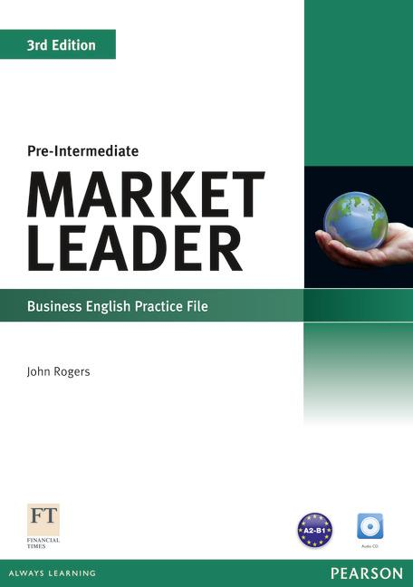 Market Leader 3rd Edition Pre-Intermediate Practice File and Practice File CD Pack
