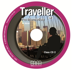 Traveller Pre-Intermediate Class CDs