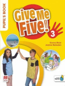 Give Me Five! 3 Pupil's Book Pack