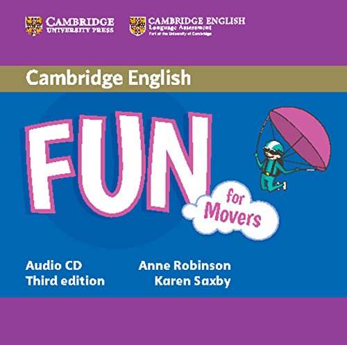 Fun for Movers 3rd Edition Audio CD (Лицензия)