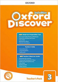 Oxford Discover Second edition 3: Teacher's Book Pack (Teacher's Guide, CPT and Teacher Resource Center)