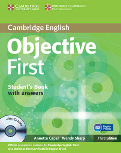 Objective First 3rd Edition Student's Book with answers with CD-ROM