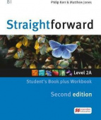Straightforward (Second Edition) split 2 Student's Book Pack A