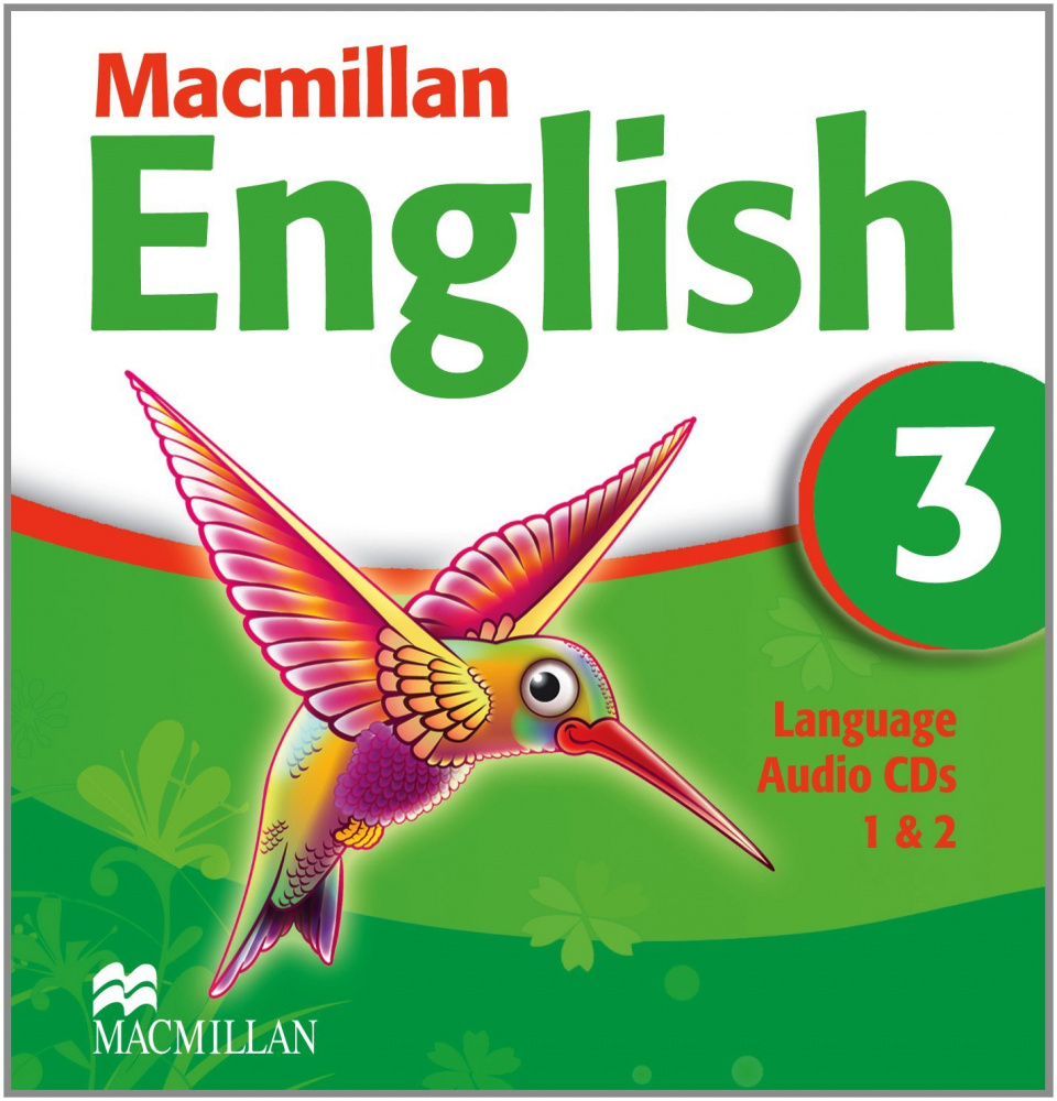 Macmillan English 3 Language CD