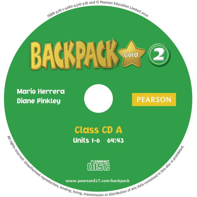 Backpack Gold Level 2 Class Audio CD