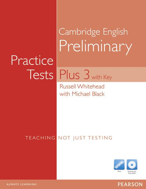 PET Practice Tests Plus 3 Book (with Key) and Multi-ROM