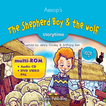 Stage 1 - The Shepherd Boy & the Wolf  Multi-ROM (Audio CD / DVD Video PAL)