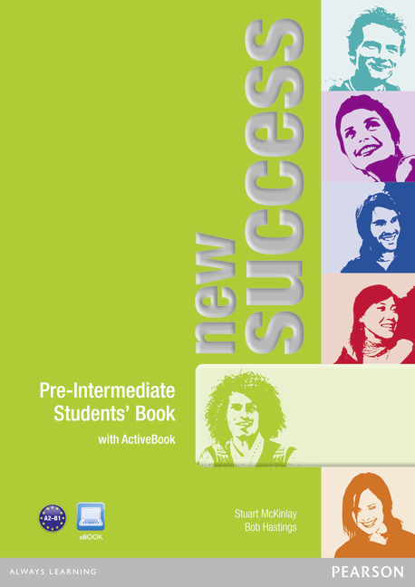 New Success Pre-Intermediate Students' Book with DVD/Active Book
