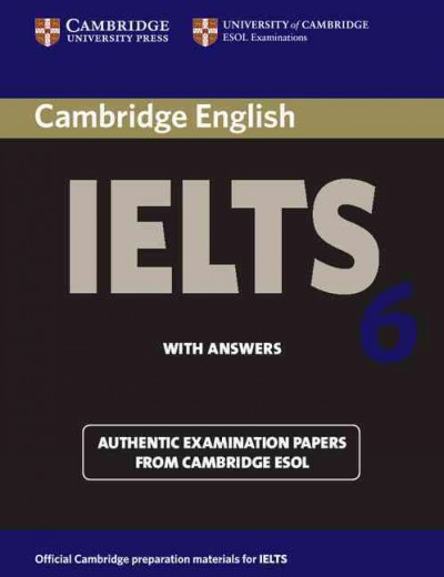 Cambridge IELTS 6 Student's Book with answers