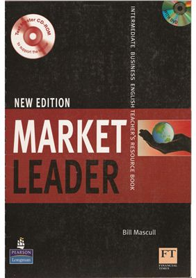 New Market Leader Intermediate Teacher's Resourse Book  with DVD and CD-ROM
