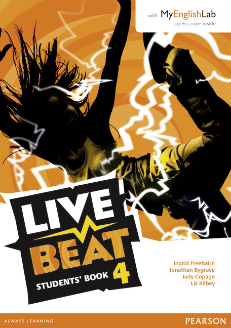 Live Beat 4 Students' Book with MyLab