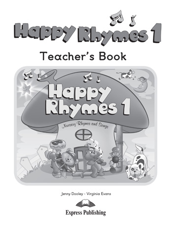 Happy Rhymes 1 Story Book Teacher's Book