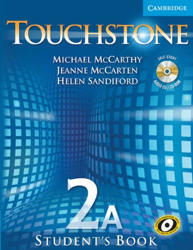 Touchstone Level 2 Student's Book A with Audio CD/CD-ROM