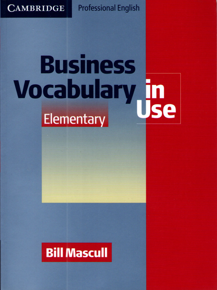 Business Vocabulary in Use Elementary with answers