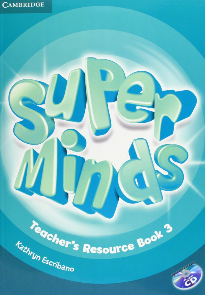 Super Minds Level 3 Teacher's Resource Book with Audio CD