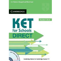 KET for Schools Direct Teacher's Book with Class Audio CD