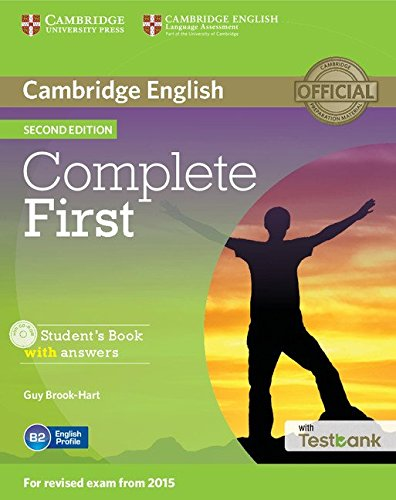 Complete First Second edition (for revised exam 2015) Student's Book with answers with CD-ROM with Testbank