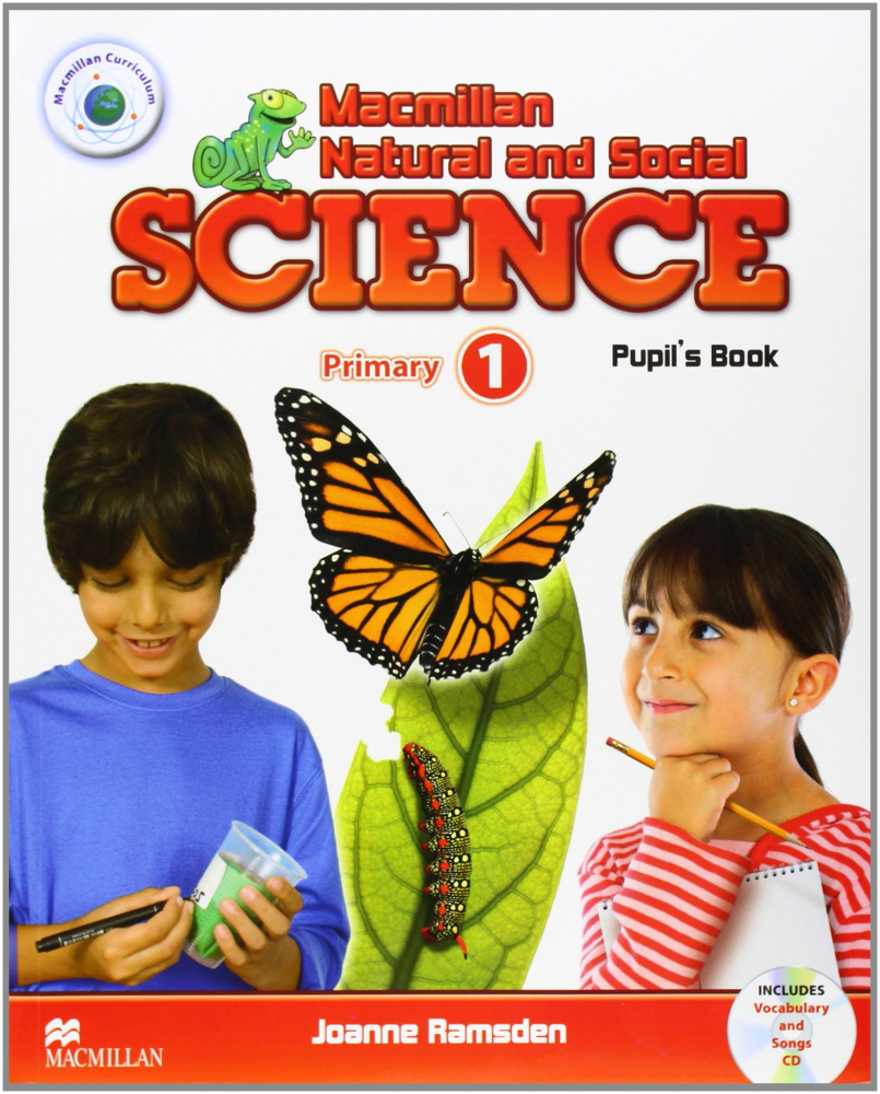 Macmillan Natural and Social Science 1 Pupil's Book Pack