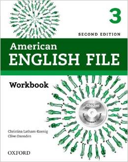 American English File Second edition Level 3 Workbook with iChecker