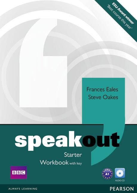Speakout Starter Workbook with key and Audio CD