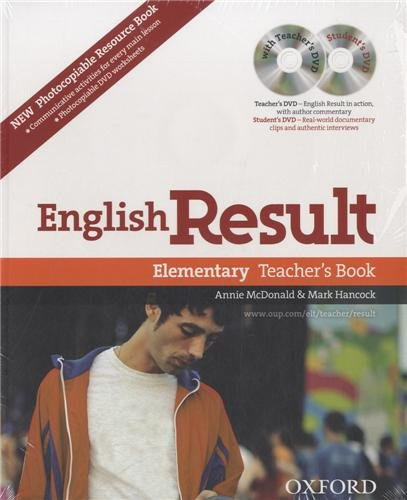 English Result Elementary Teacher's Resource Pack With DVD