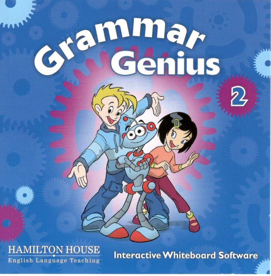 Grammar Genius B:  IWB software