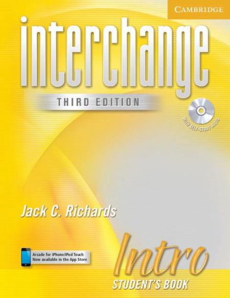 Interchange Third Edition Intro Student's Book with Self-study Audio CD