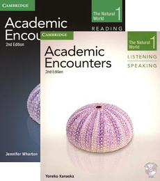 Academic Encounters 2nd Edition Level 1: The Natural World - 2-Book Set (Student's Book Reading and Writing and Student's Book Listening and Speaking with DVD)