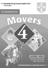 Cambridge Young Learners English Tests (Second Edition) Movers 4 Answer Booklet
