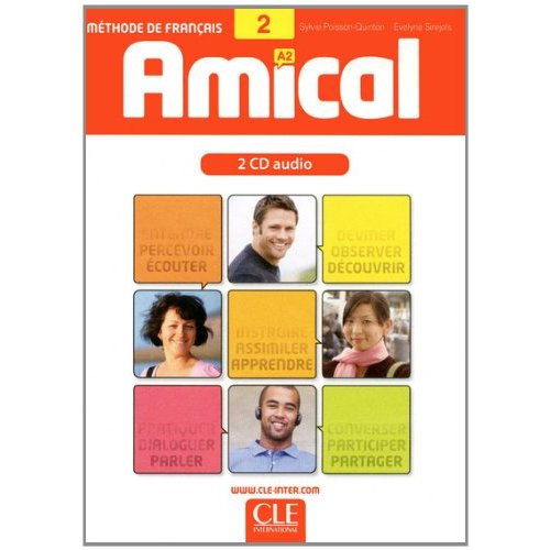 Amical - Niveau 2 - A2 - CD audio