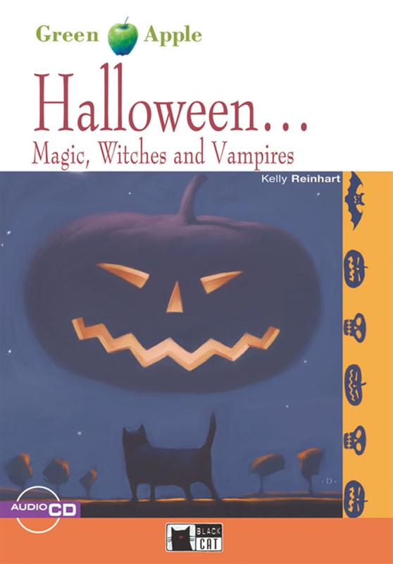 Green Apple Step1:  Halloween... Magic, Witches and Vampires with Audio CD