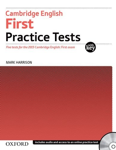 Cambridge English First Practice Tests: With Key