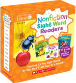 Nonfiction Sight Word Readers Parent Pack: Level D (25 books)