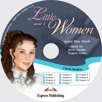 Classic Readers Level 4 Little Women Audio CD