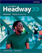 Headway Fifth edition  Advanced Workbook without key