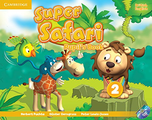 Super Safari 2 Pupil's Book with DVD-ROM