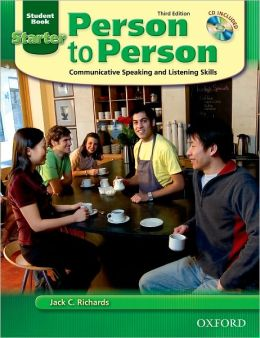 Person to Person Third Edition Starter Student Book (with Student Audio CD)