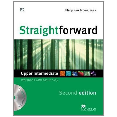 Straightforward (Second Edition) Upper Intermediate Workbook with Key + CD