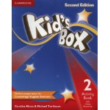 Kid's Box Second Edition 2 Activity Book with Online Resources