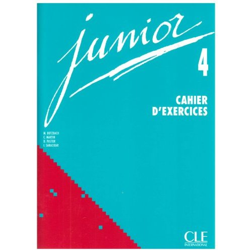 Junior 4 - Cahier d'exercices