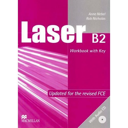 Laser B2 Workbook With Key (+ Audio CD)