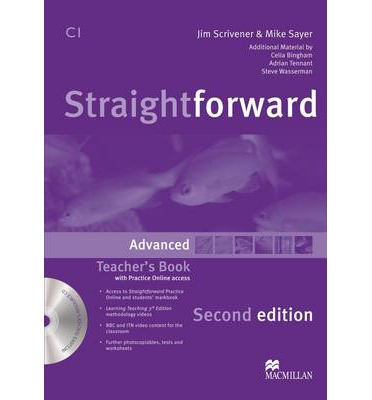 Straightforward (Second Edition) Advanced  Teacher's Book Pack