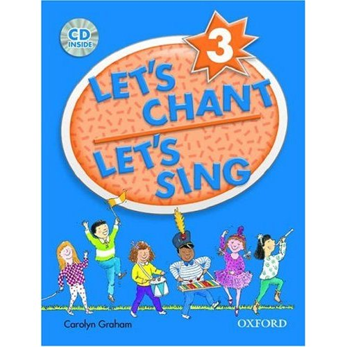 Let's Chant, Let's Sing 3 Student Book with Audio CD