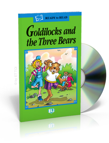 ELi Readers Green Series: (A1) Goldilocks and the Three Bears with CD